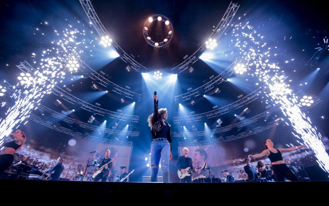 Glennis eert op fenomenale wijze Whitney Houston in AFAS Live